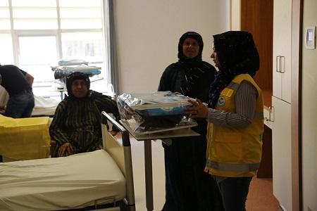 Haliliye Belediyesi, bebeklerin ilk ihtiyacını karşılıyor