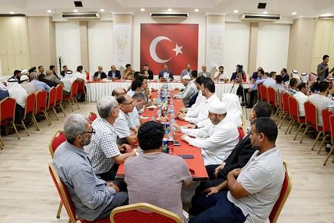 Suriyeli kanaat önderleriyle yapılan toplantıda sağduyu mesajı verildi