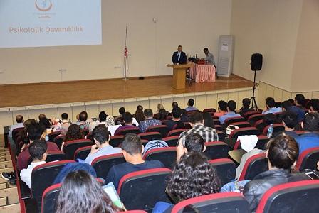 HRÜ'de psikolojik dayanıklılık konferansı