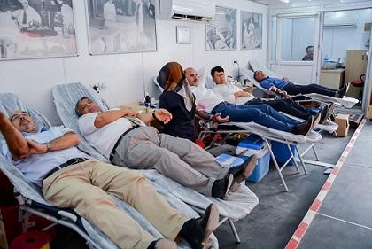 Ceylanpınar Belediye'sinden kan bağışına destek