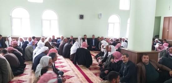 Viranşehir'de husumetli aileler barıştırıldı