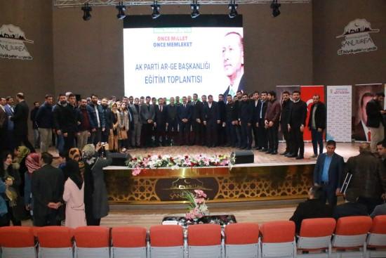 Şanlıurfa'da Parti İçi Ar-Ge Teşkilat Eğitim toplantısı yapıldı