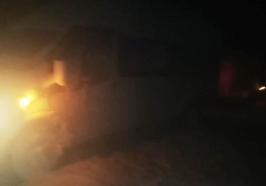 Şanlıurfa'da kar ve tipi nedeniyle onlarca kişi mahsur kaldı