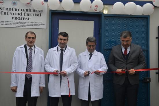 Birecik'te su ürünleri araştırma laboratuvarı açıldı
