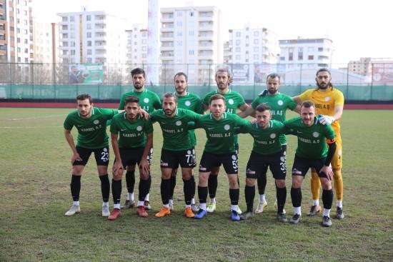 Karaköprü Belediyespor Körfez'i rahat geçti