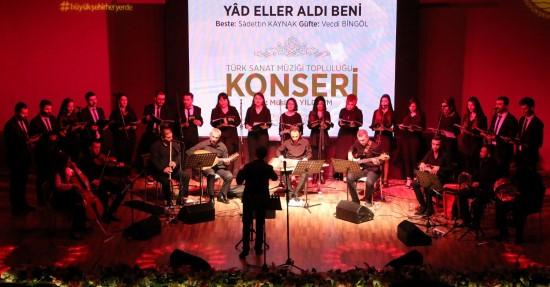 Şanlıurfa'da Türk sanat müziği topluluğu ilk konserini verdi