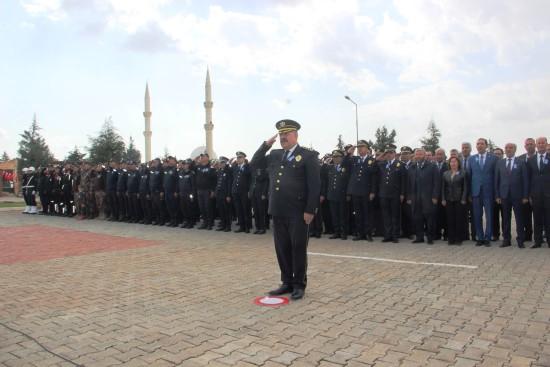 Şanlıurfa'da Türk Polis Teşkilatının Kuruluş Yıl Dönümü kutlamaları
