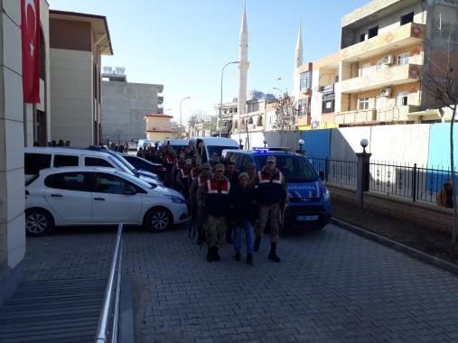 Suç örgütüne operasyon: 27 gözaltı
