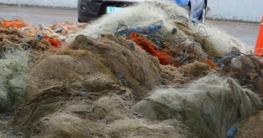 40 bin metre kaçak balık ağı ele geçirildi