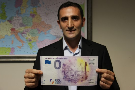 Göbeklitepe, hatıra amaçlı Euro'da