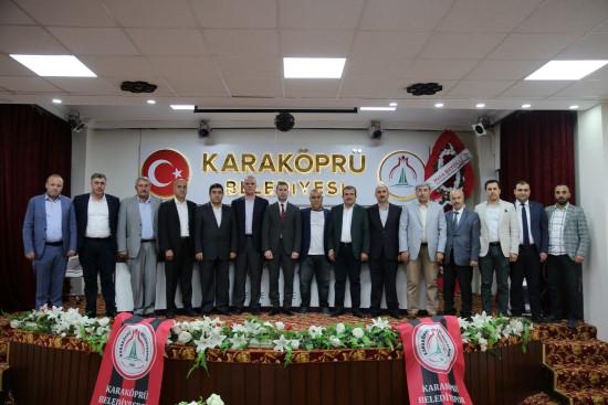 Karaköprü Belediyespor'da görev dağılımı belirlendi