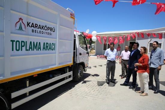 Karaköprü Belediyesi'ne 2 milyon liralık geri dönüşüm hibesi
