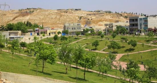 Eyyübiye ilçesinde park seferberliği başladı