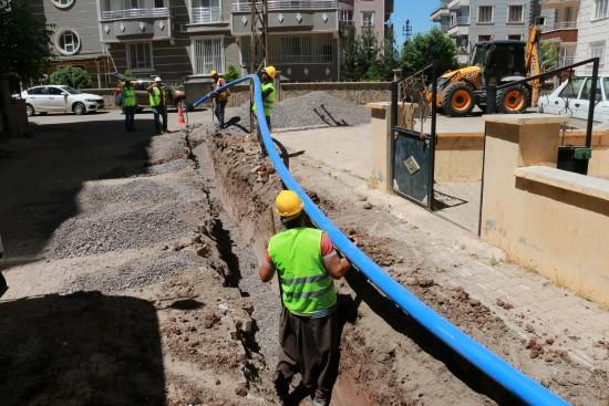 Siverek merkez içme suyu projesi devam ediyor
