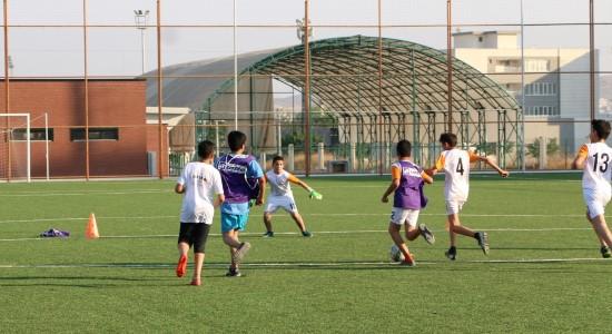Şanlıurfa'da futbol yaz okuluna yoğun ilgi