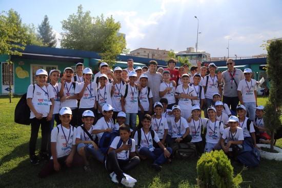 Eyyübiyeli gençler yaz kampına gönderildi