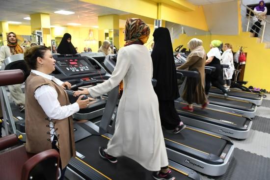 Şanlıurfalı kadınlar sağlıklı yaşam merkezlerinde buluşuyor
