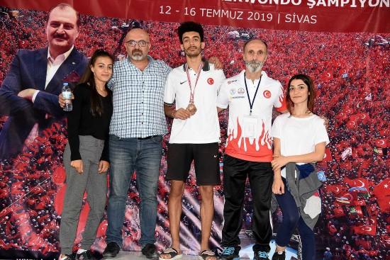 Şanlıurfalı sporcu Türkiye 3'üncüsü oldu