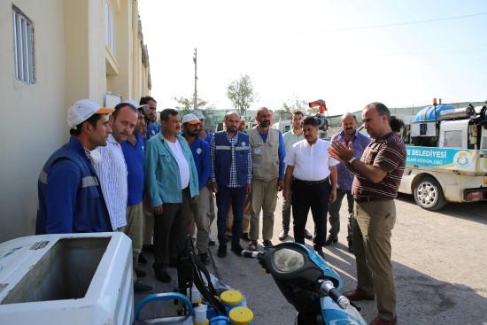 Haliliye Belediyesi Kurban Bayramı'na hazır