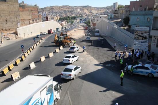 Karakoyun köprülü kavşağı trafiğe açıldı