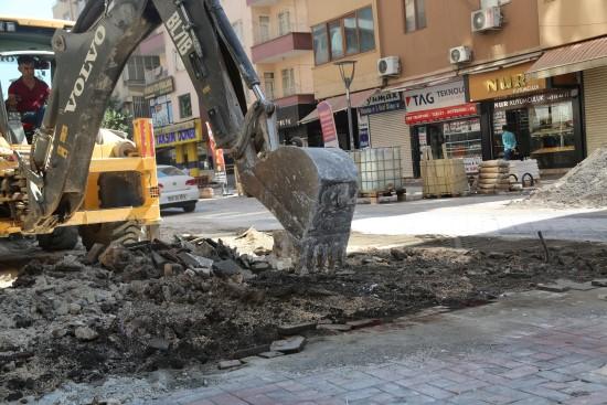 Siverek'te asfaltlama çalışmaları