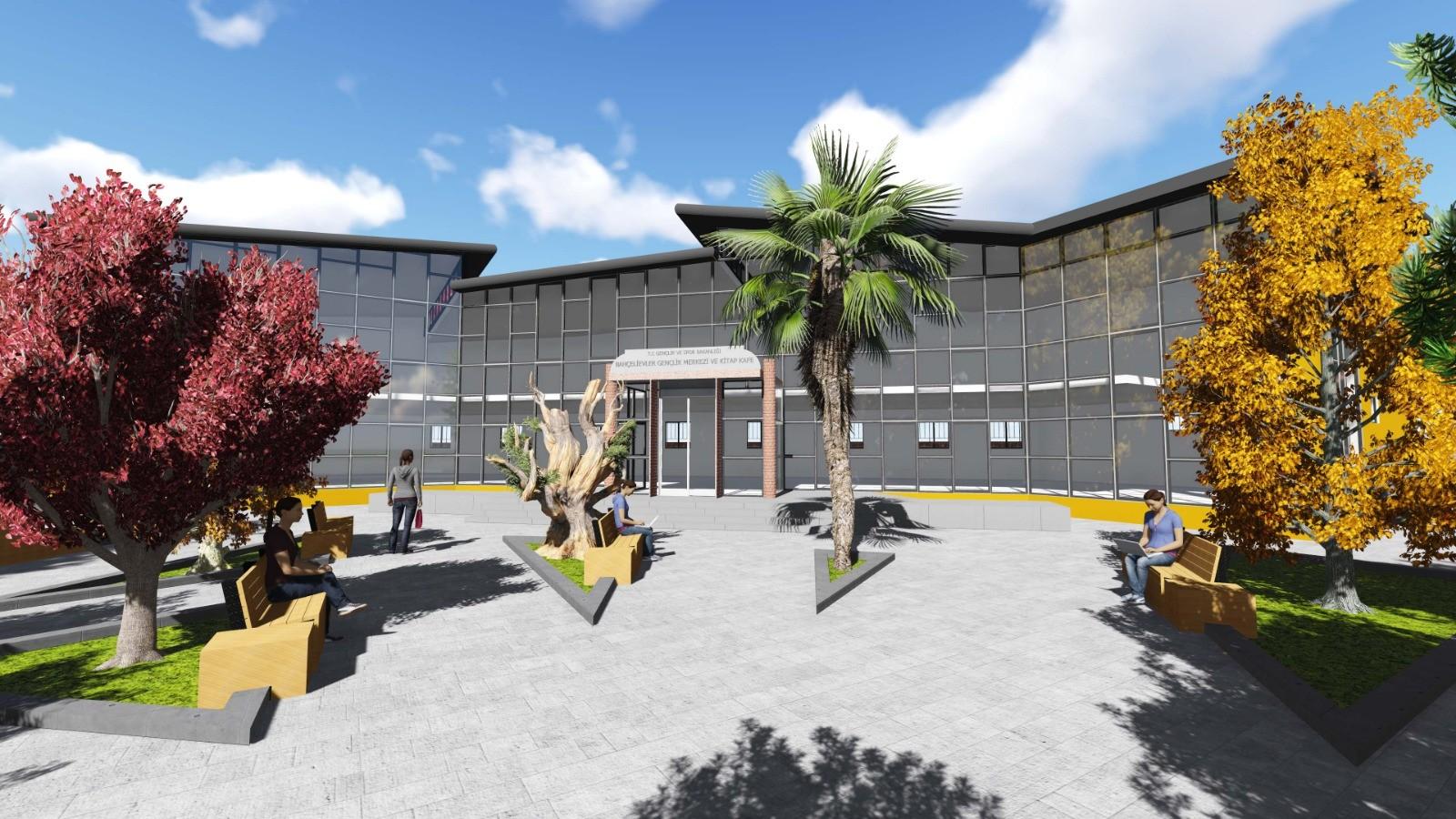 Bahçelievler Gençlik Merkezi yeniden yapılıyor