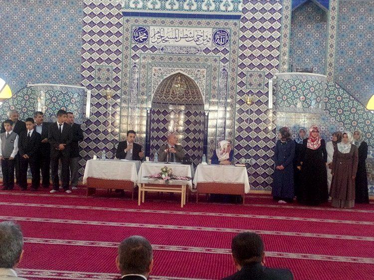 Kur'anı Kerimi Güzel Okuma Bölge Yarışması Yapıldı