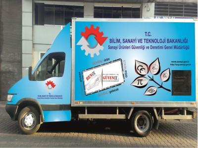 Ürün Güvenliği TIR'ı Şanlıurfa'ya geliyor