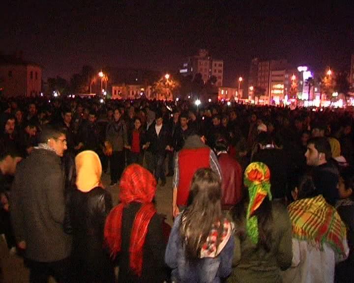Şanlıurfa\'da Kobani kutlaması
