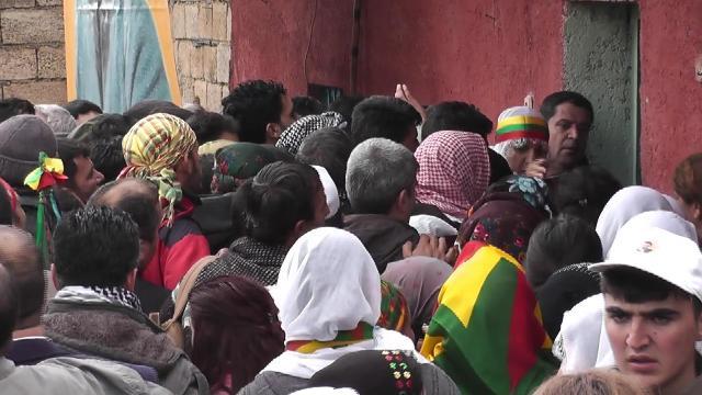 HDP\'liler Ömerli Köyünde doğum gününü kutladılar