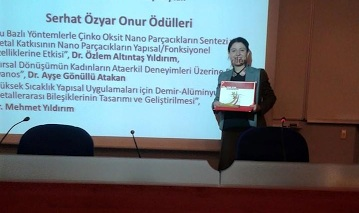 Genç Bilim Adamı Ödülü Harran Üniversitesinin