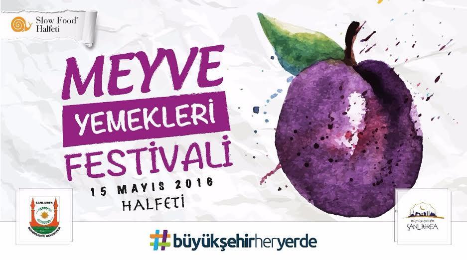 Halfeti\'de meyve yemekleri festivali düzenleniyor