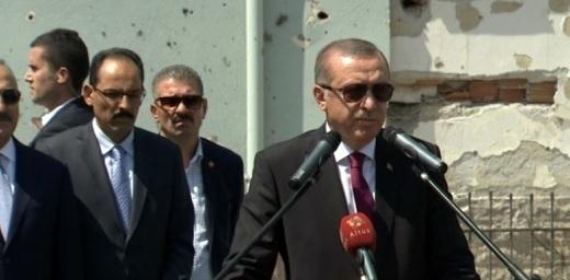 Erdoğan\'dan ABD\'li generale: Sen kimsin, haddini bileceksin!