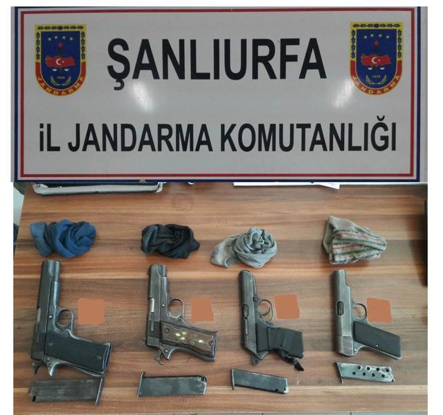 Urfa'da Silah kaçakçılarına darbe